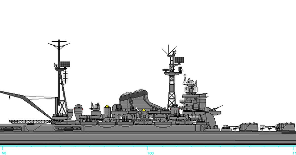 イラスト コミュニケーションサービス[pixiv(ピクシブ)]改利根型重巡洋艦