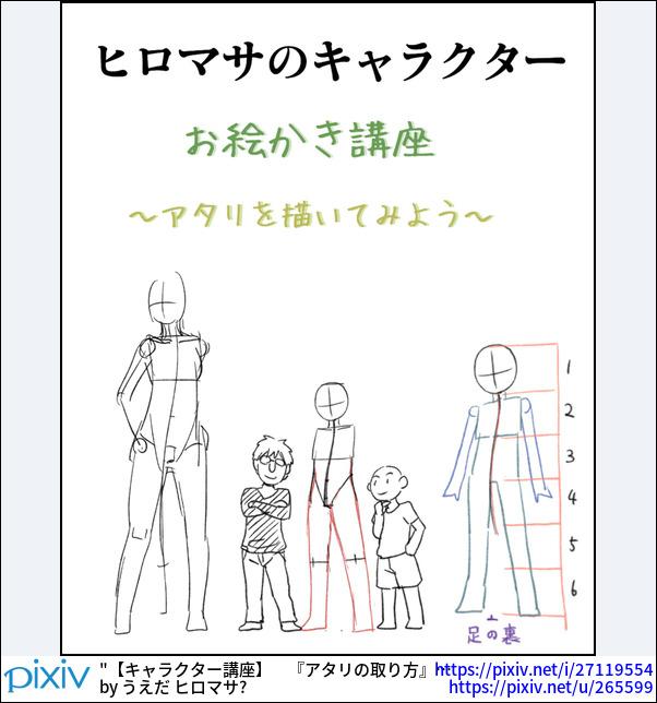 【キャラクター講座】 『アタリの取り方』 (初心者向け)