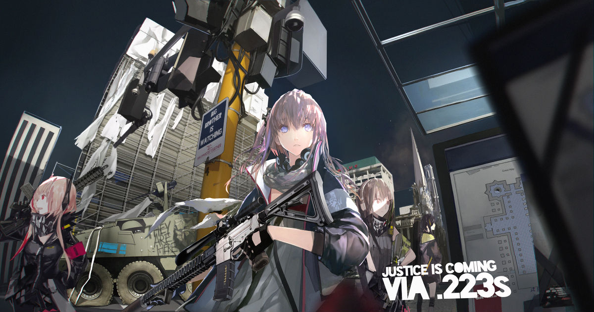 【少女前線】「War Zone」イラスト/LIN+ [pixiv]