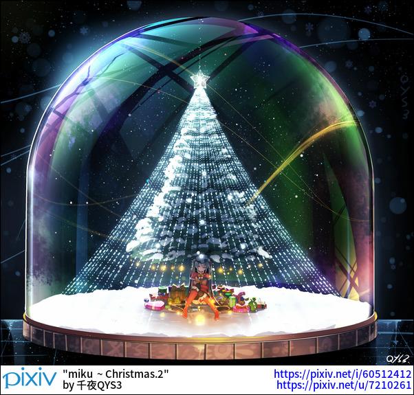 miku  ~ Christmas.2