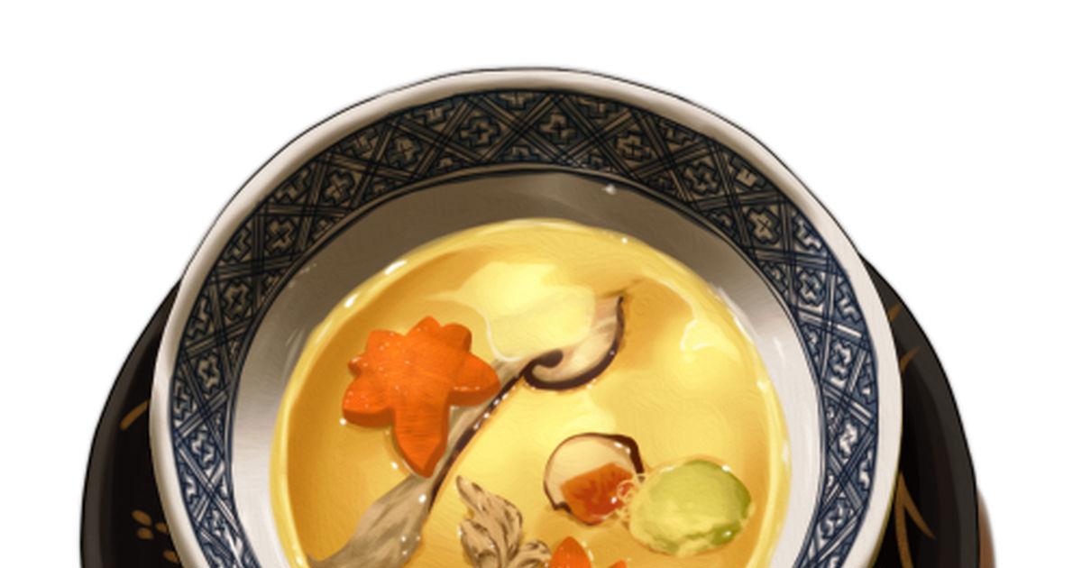 #オリジナル 茶碗蒸し - 烏鷺山@仕事募集中のイラスト - pixiv