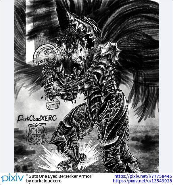 Guts One Eyed Berserker Armor