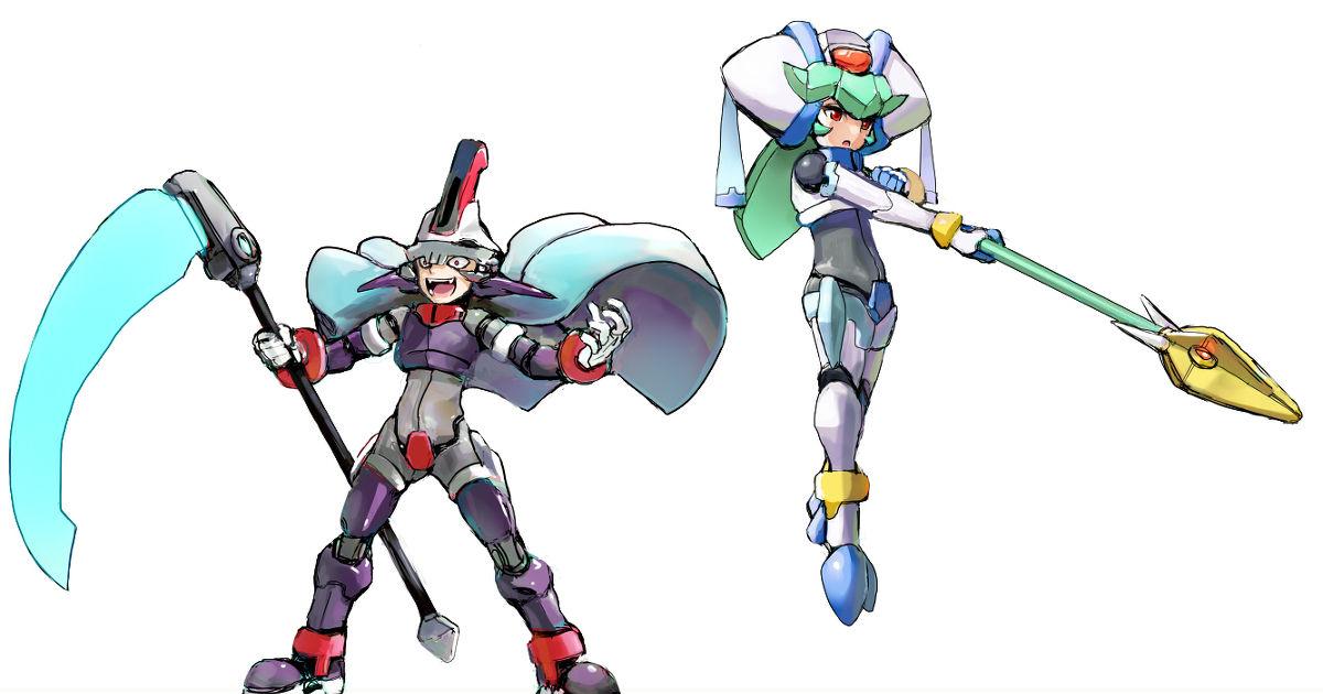 Megaman, Mega Man ZX, pandora / Phantasm - pixiv