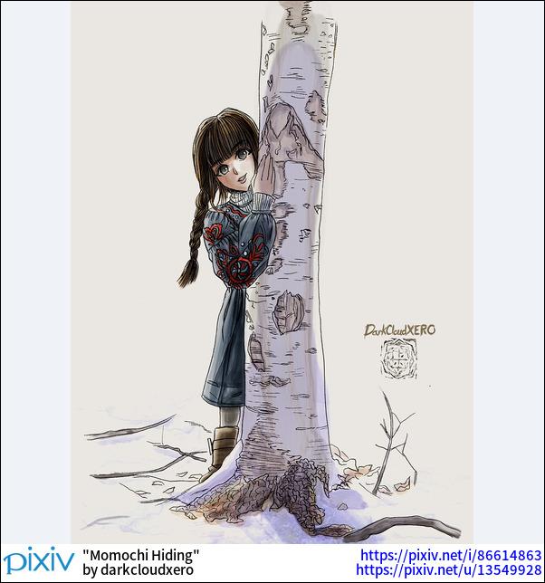 Momochi Hiding