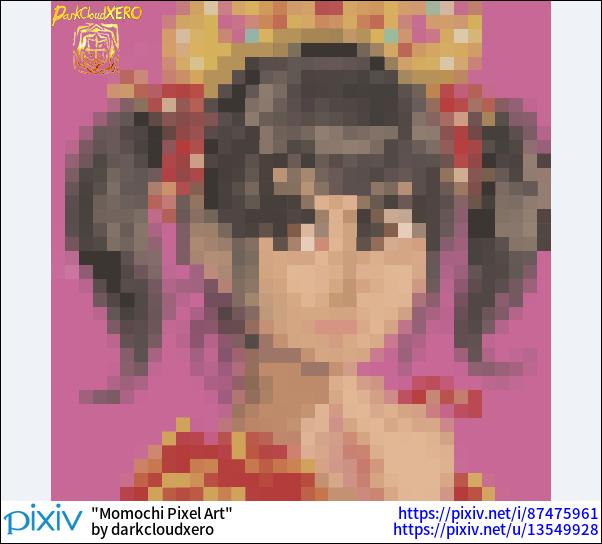 Momochi Pixel Art