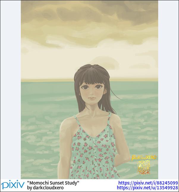 Momochi Sunset Study