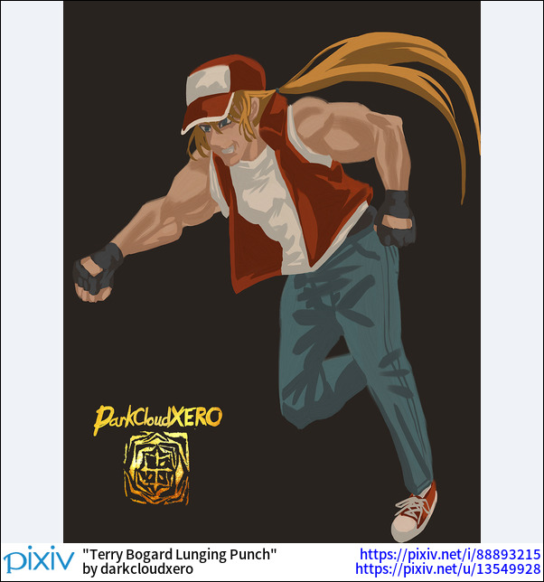 Terry Bogard Lunging Punch