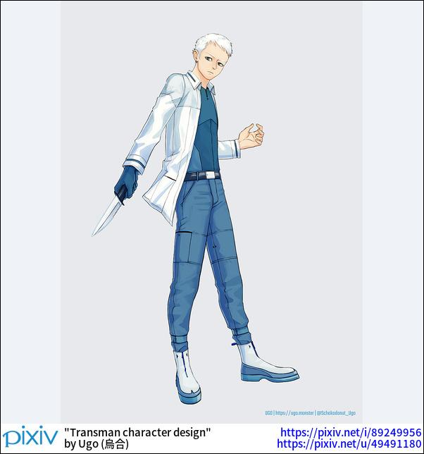 Transman character design